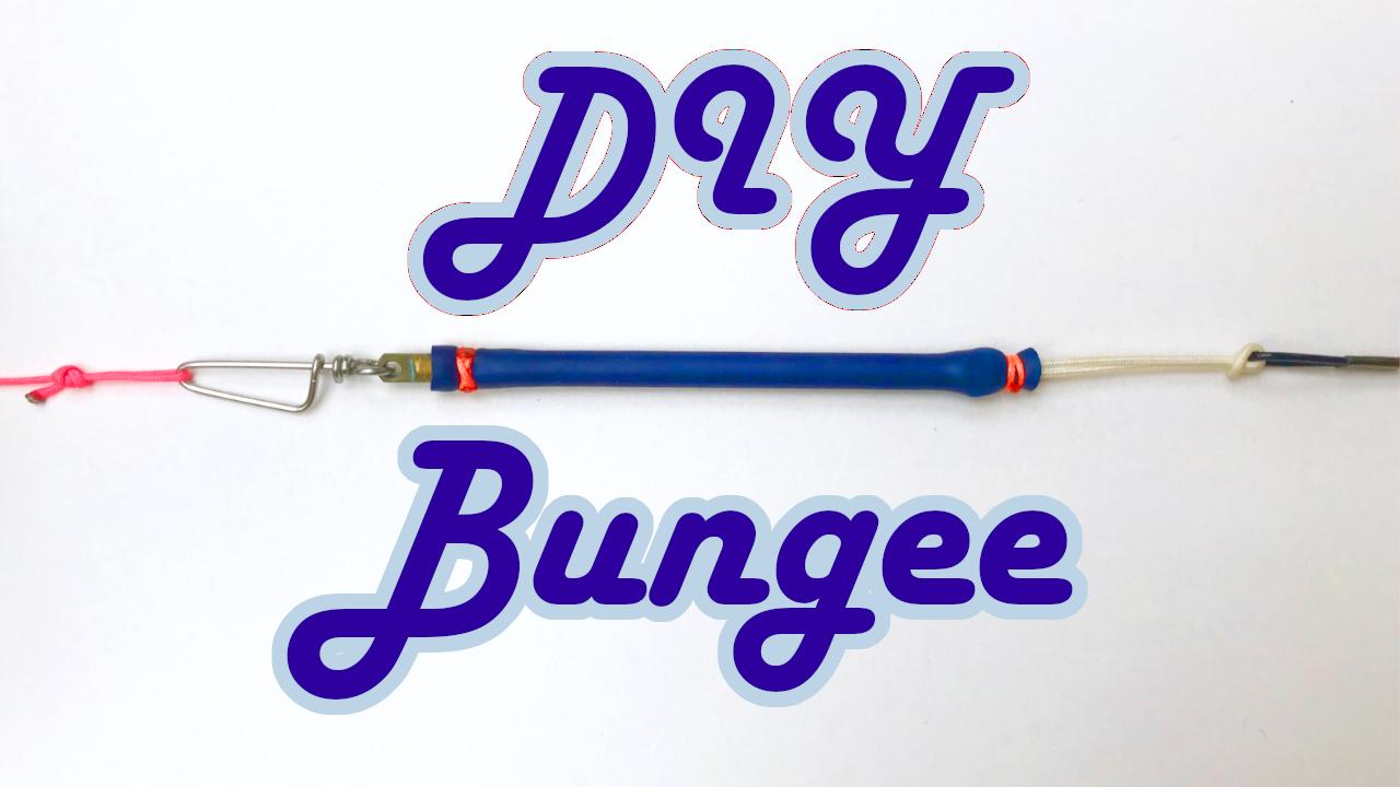 DIY Bungee Thumb Spearfishing Shock Chord Line Rig Rigging
