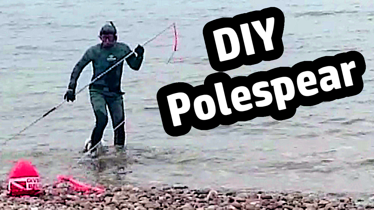 DIY Polespear Hawaiian Sling gun Tutorial Guide how to build spearfishing