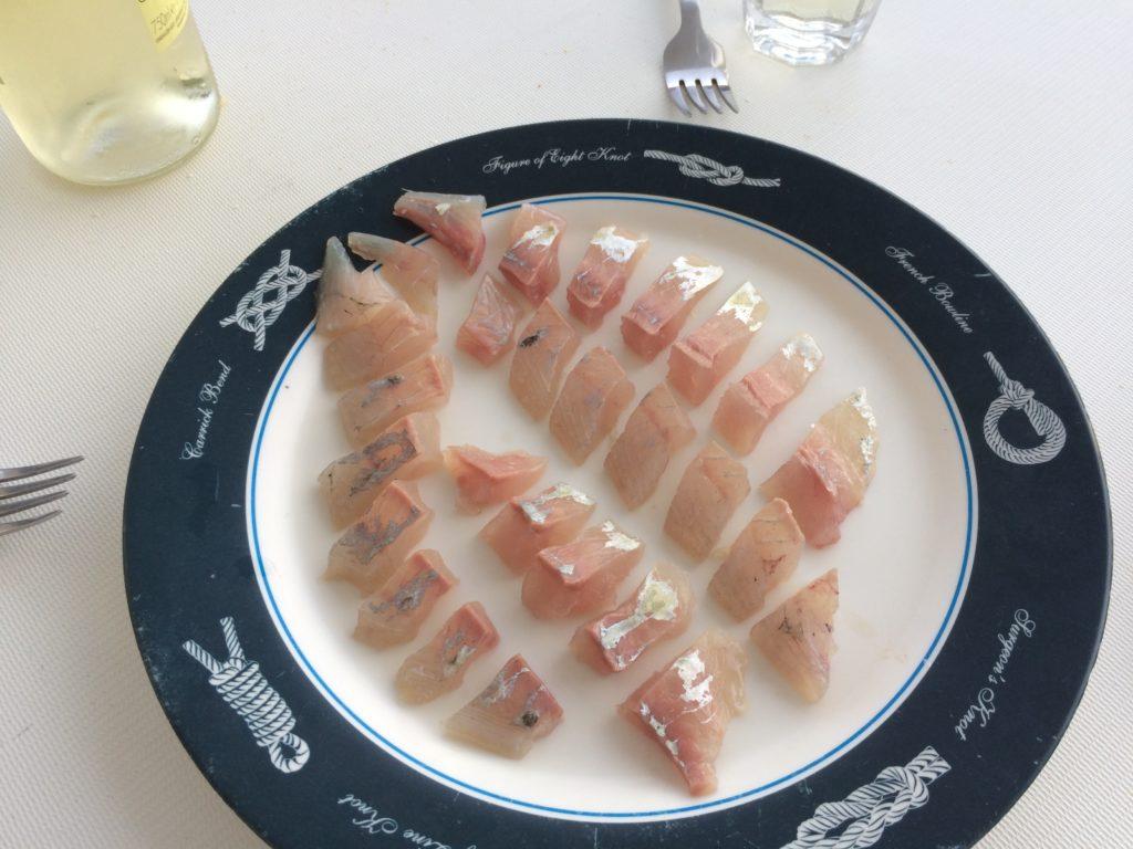 Fisch-filetieren-Sashimi