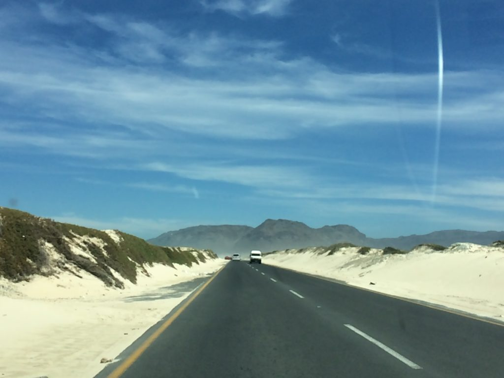 Muizenberg Strand Südafrika