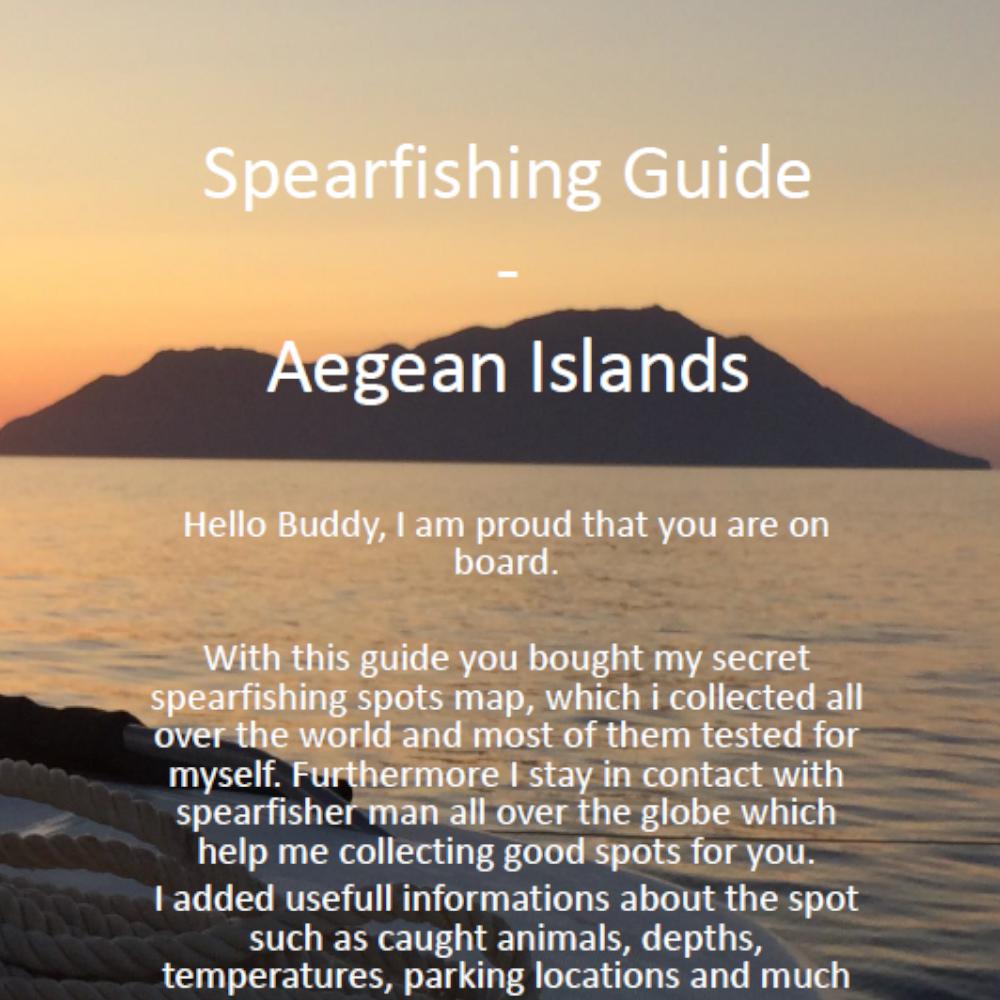Aegean-Islands-Spearfishing-Cover-Ägäische-Inseln-Harpune-Ägäis-Harpunieren-Speargun-GER