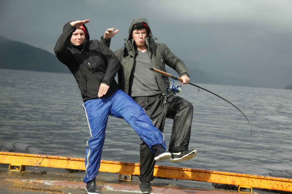 Fishing Ferry Ropheid saltwater Mackerel