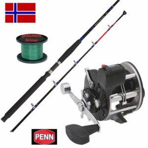 Norwegen Norway Angeln Pennroll Boot Fjord Pen Penn