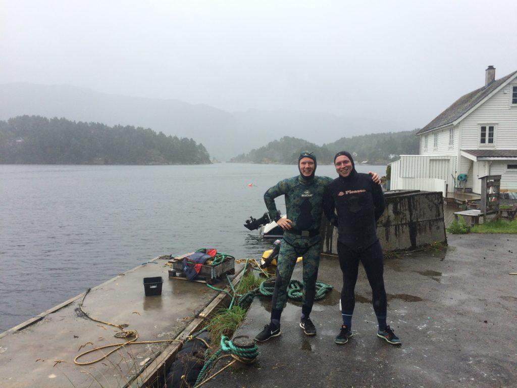Spearfishing Norway Fjord Norwegen harpunieren