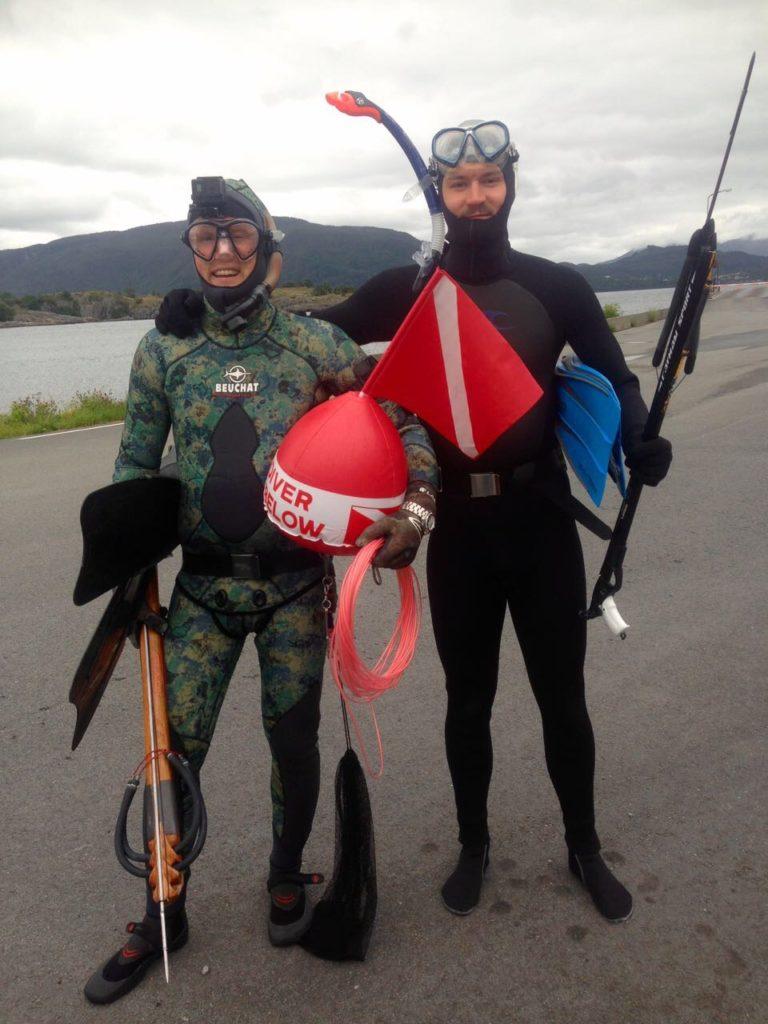 Spearfishing Norway Harpunieren Fjords