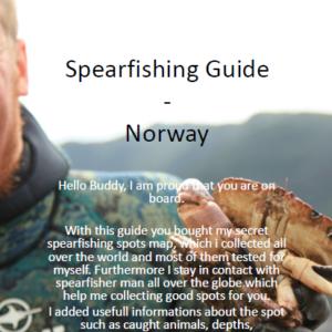 Spearfishing Norway Norwegen Spots Karten Spot Fischen Angeln Fishing