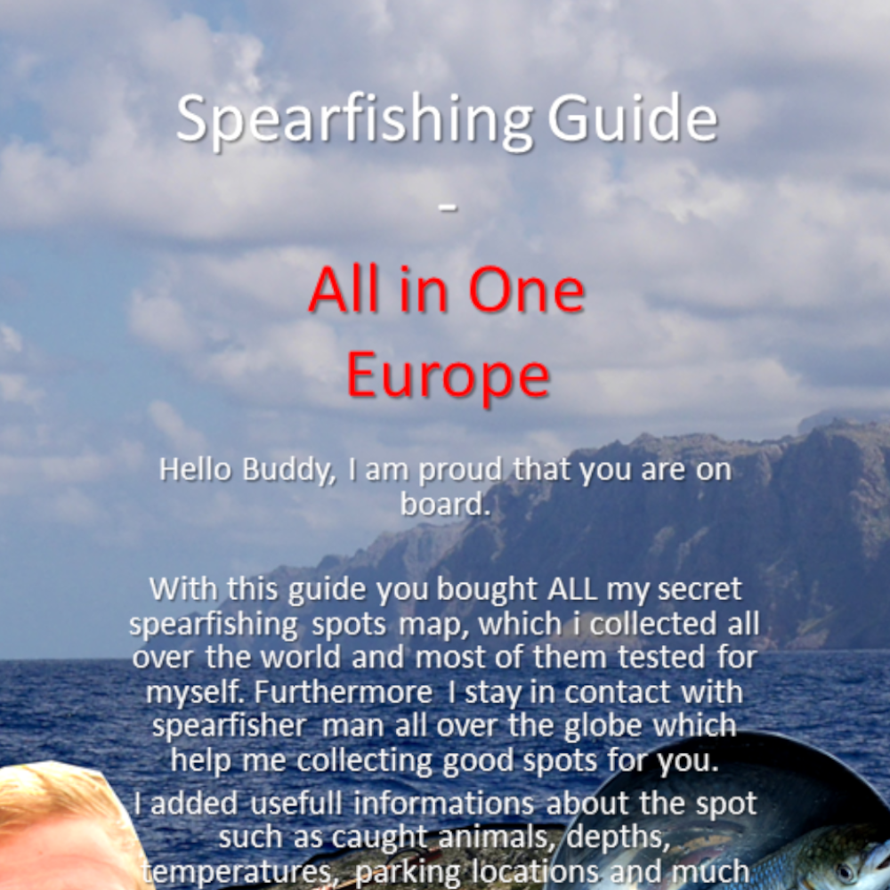 Spearfishing Spots Guide Tips Basics Europe Norway Spain France Italy Denmark England Great Britain Croatia Tutorial harpunieren Harpune GER