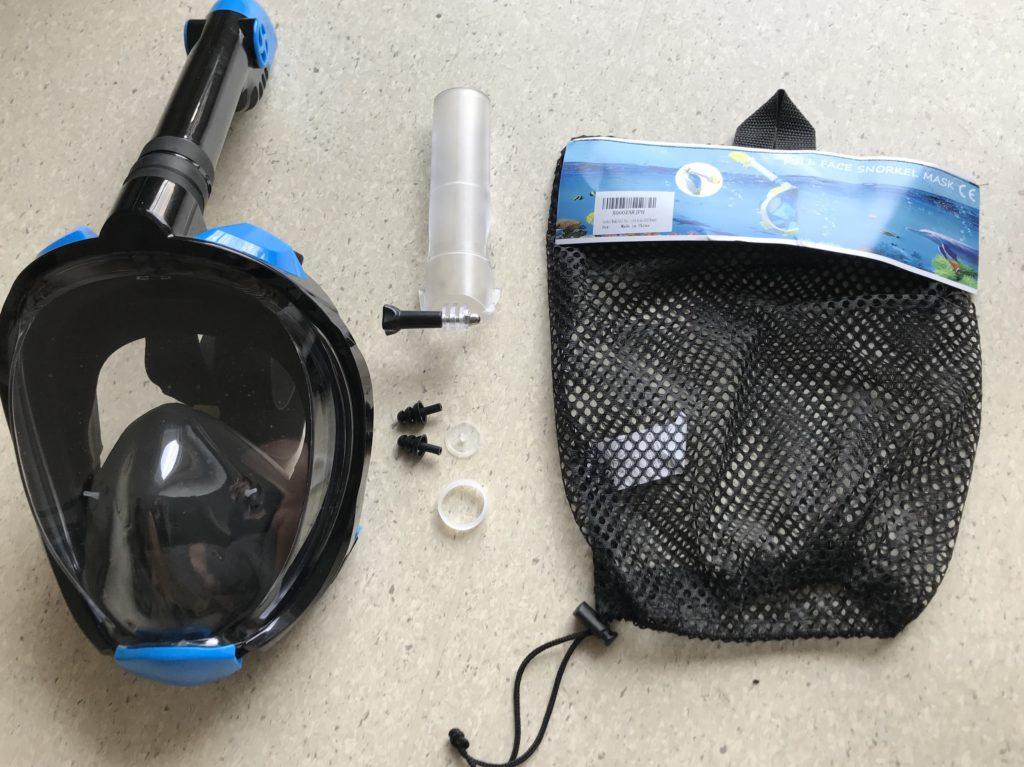Gesicht Tauchmaske Schnorchelmaske Vollgesicht Test Review Testbericht 2019 diving Apnoe tauchen Freediving Speerfischen