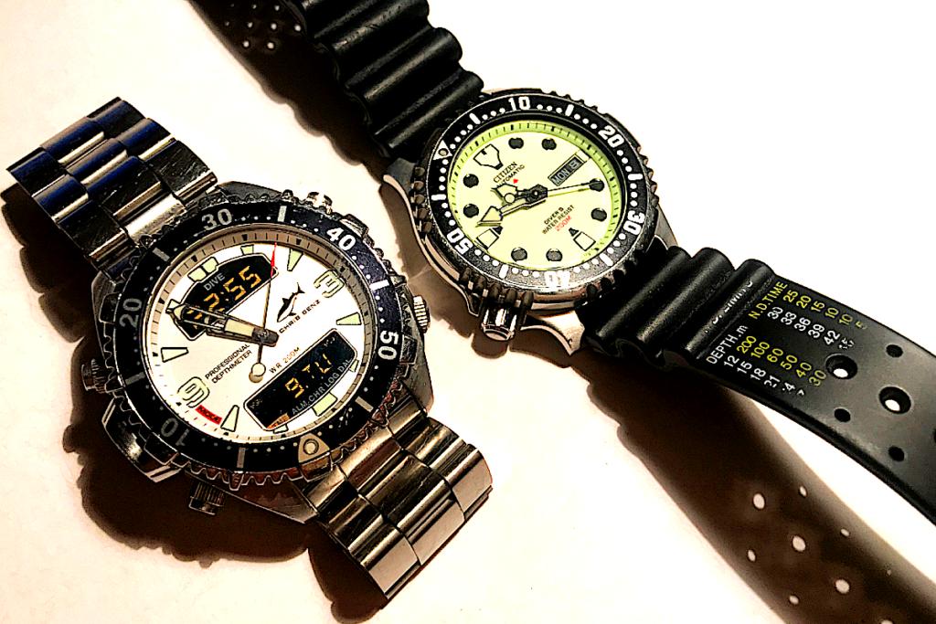 Chris Benz Depthmeter Citizen Promaster Diving Watches Taucheruhren tauchen Computer Diverwatch