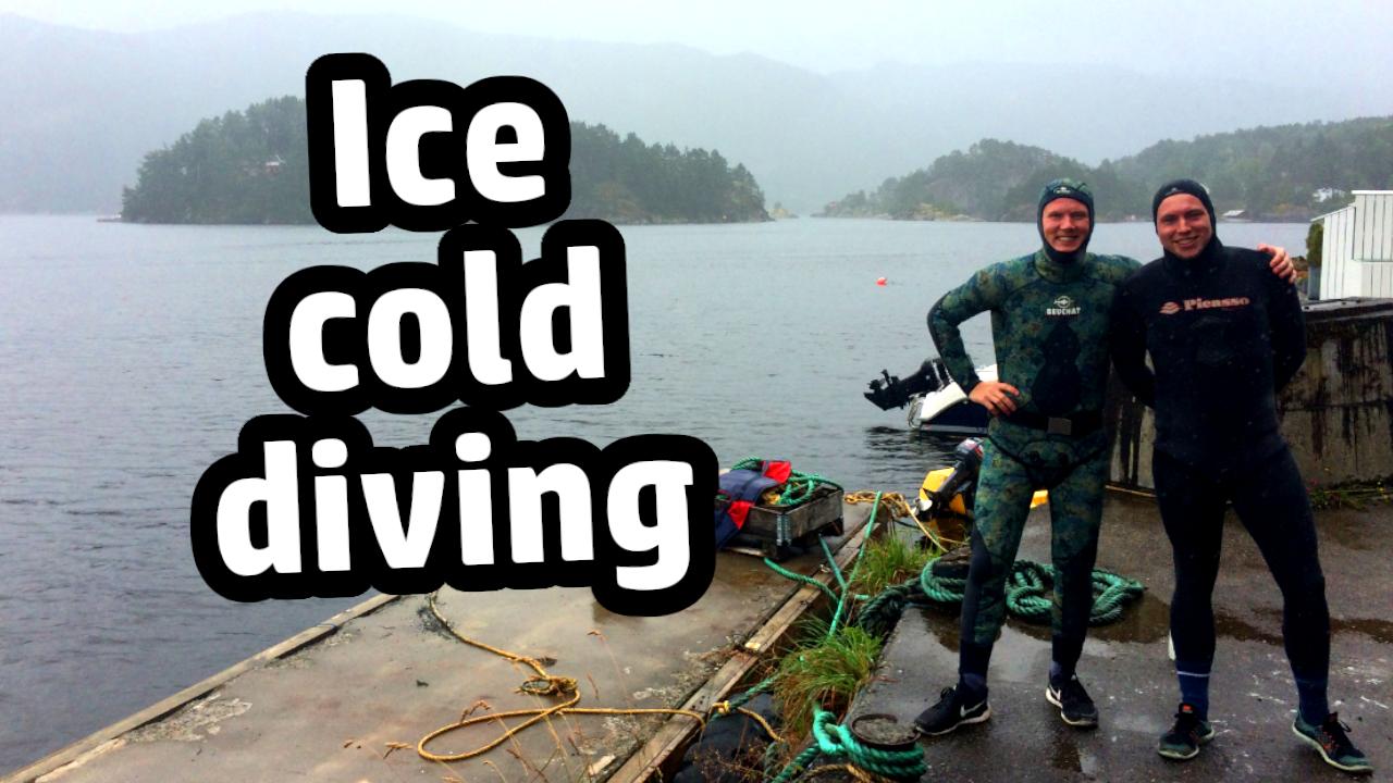 Ice cold diving tauchen Eiswasser kaltwasser kaltes Wasser cold water Winter neoprene neopren Anzug Empfehlung Guide Tips Tipps