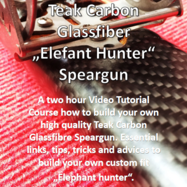 DIY Speargun Tutorial Harpune selbst bauen selber Anleitung Guide Spearfishing Teak Carbon Glassfibre Do it yourself 2 GER